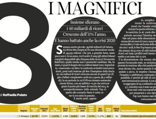 Cromatos tra i #MAGNIFICI800!